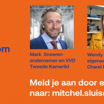 Hoornse VVD: Ondernemersevent: ondernemen tijdens corona